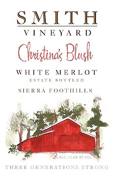 2014 Christina's Blush | Smith Vineyard | Grass Valley Wine Tasting