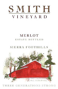 2012 Estate Merlot | Smith Vineyard | Nevada County